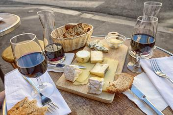 Thumbnail for Try Out Some Beautiful Wine and Cheese Pairing